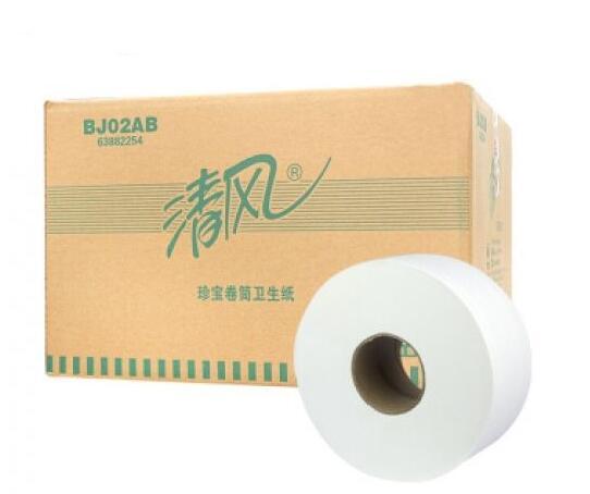 清風BJ02AB大盤紙巾(jin)批發廠家
